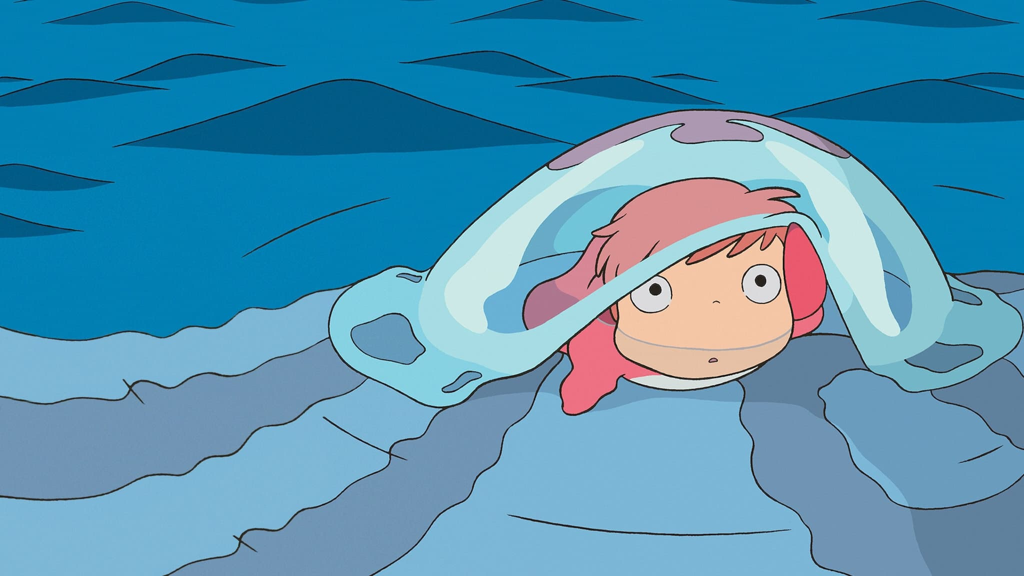 """Image du film """"Ponyo sur la falaise"""""""