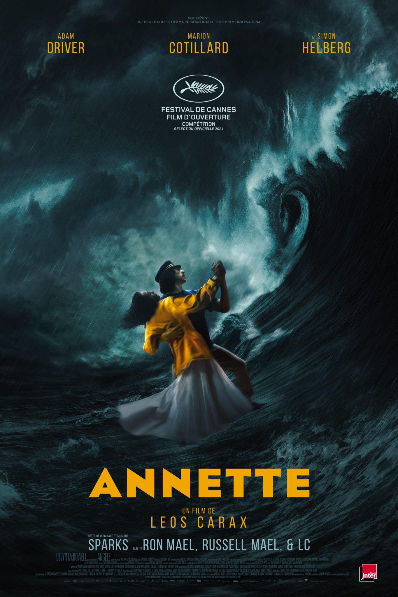 "Affiche du film ""Annette"""