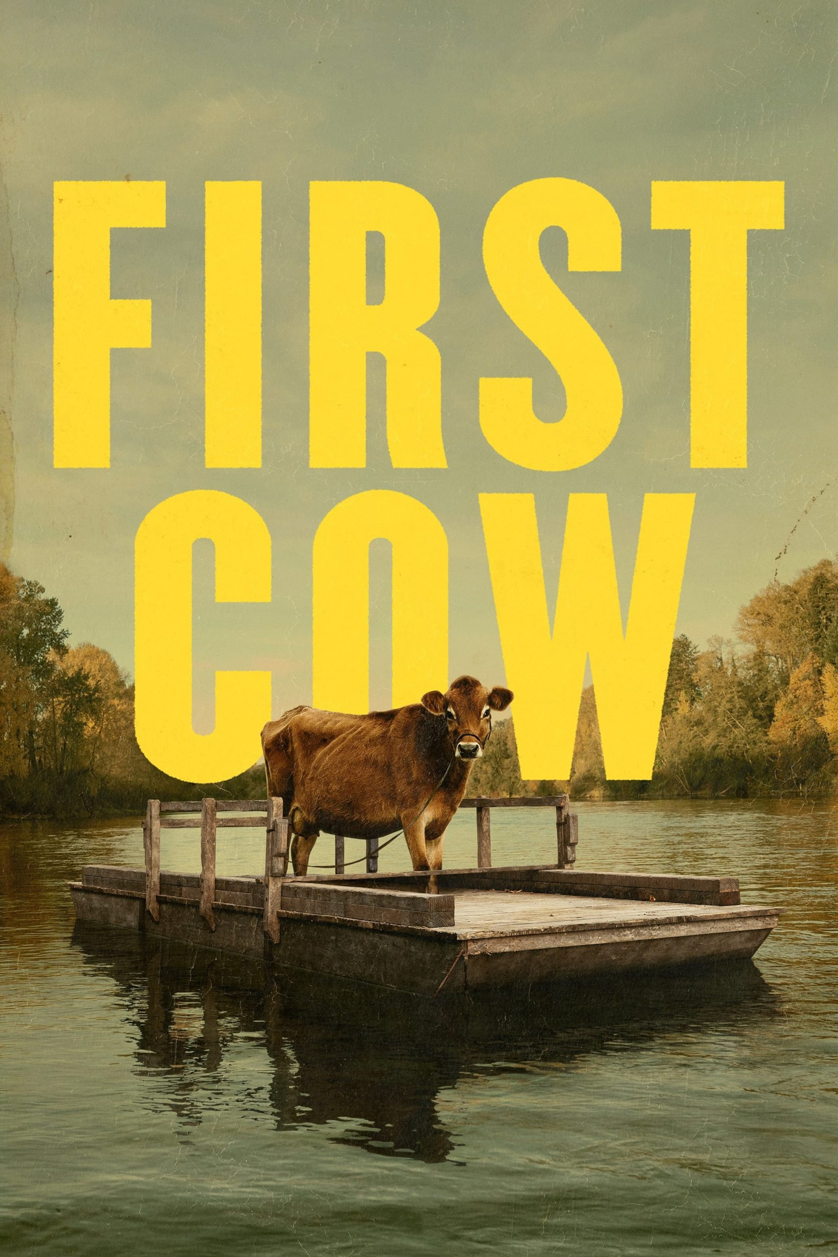 """Affiche du film """"First Cow"""""""