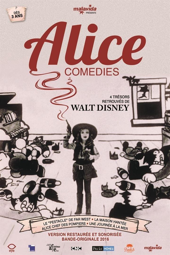 "Affiche du film ""Alice Comedies"""