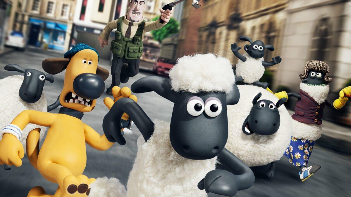 """Affiche du film """"Shaun le Mouton, le film"""""""