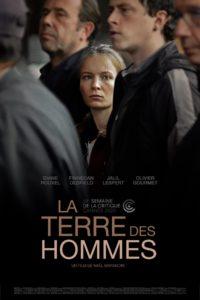"""Affiche du film """"La terre des hommes"""""""